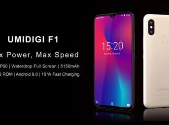 【ドコモ/ソフトバンク対応】UMIDIGI F1はライトユーザにおすすめ!必要十分なスペックに最新機能を詰め込んだ激安スマホ