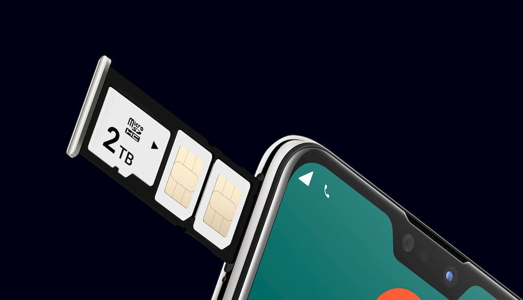 ZenFone Max Pro (M2)はデュアルSIM+microSDのトリプルスロット!