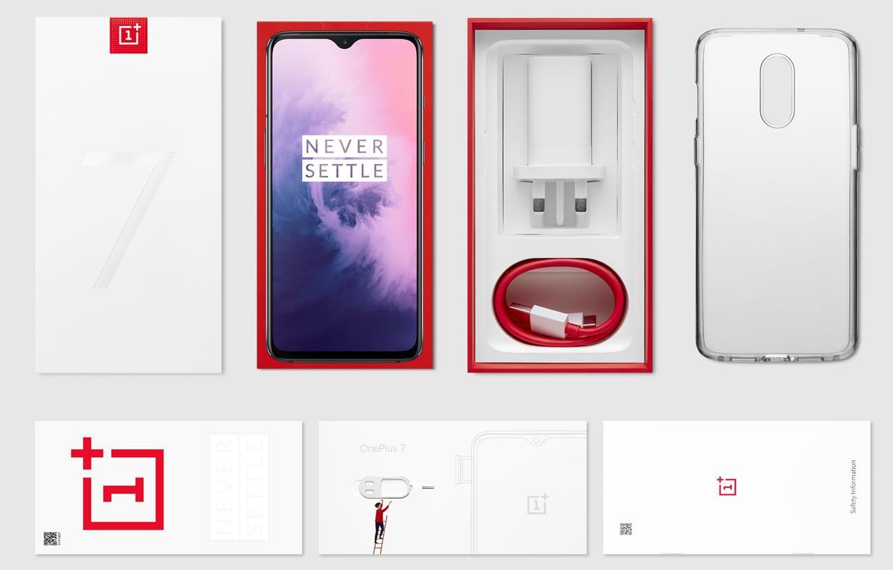 OnePlus 7の付属品