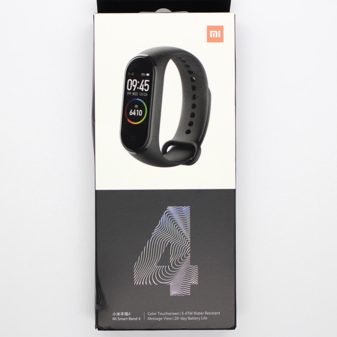 Xiaomi Mi Band 4のパッケージデザイン