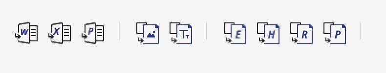 PDFElement ProはPDFからさまざまなファイル形式に変換可能