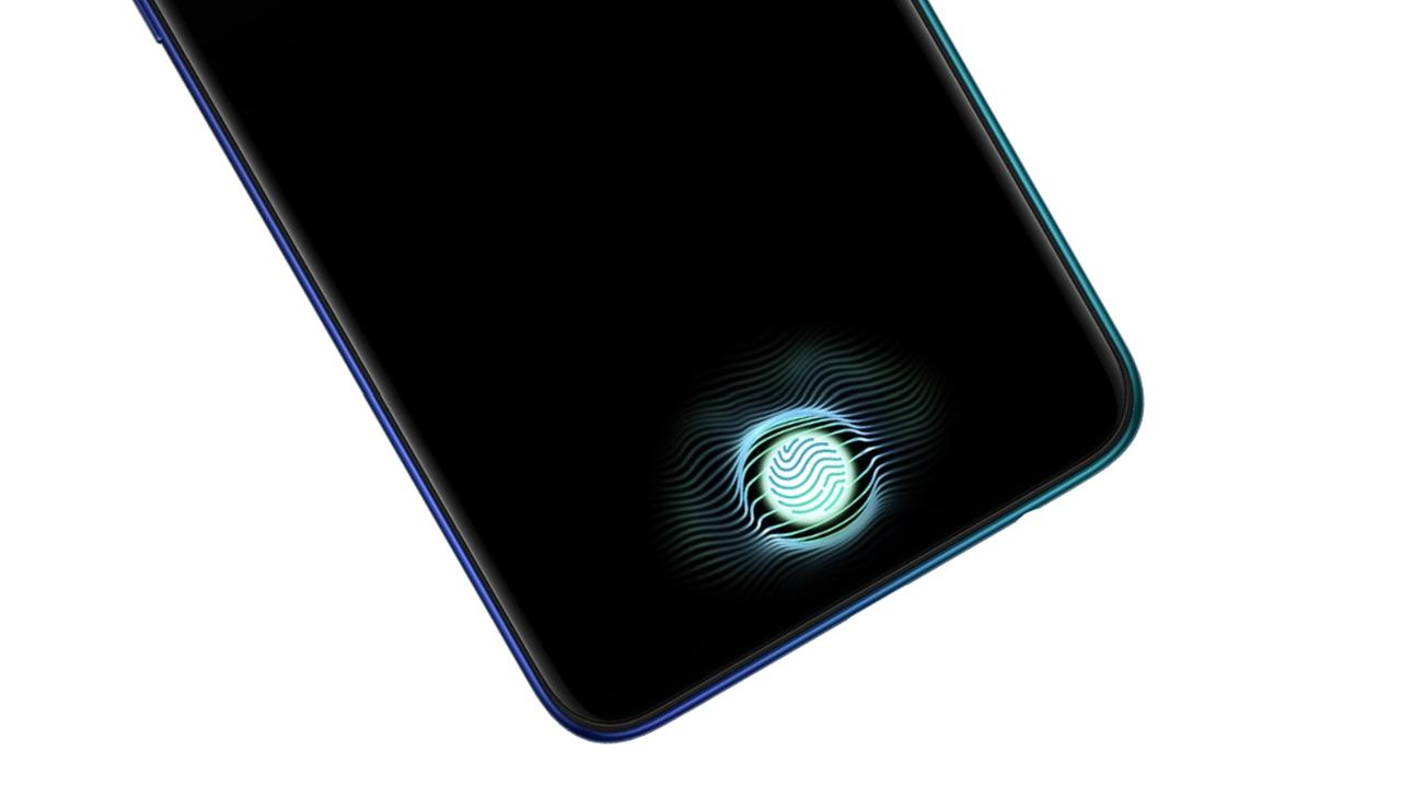 Reno Aはディスプレイ指紋認証センサーを搭載