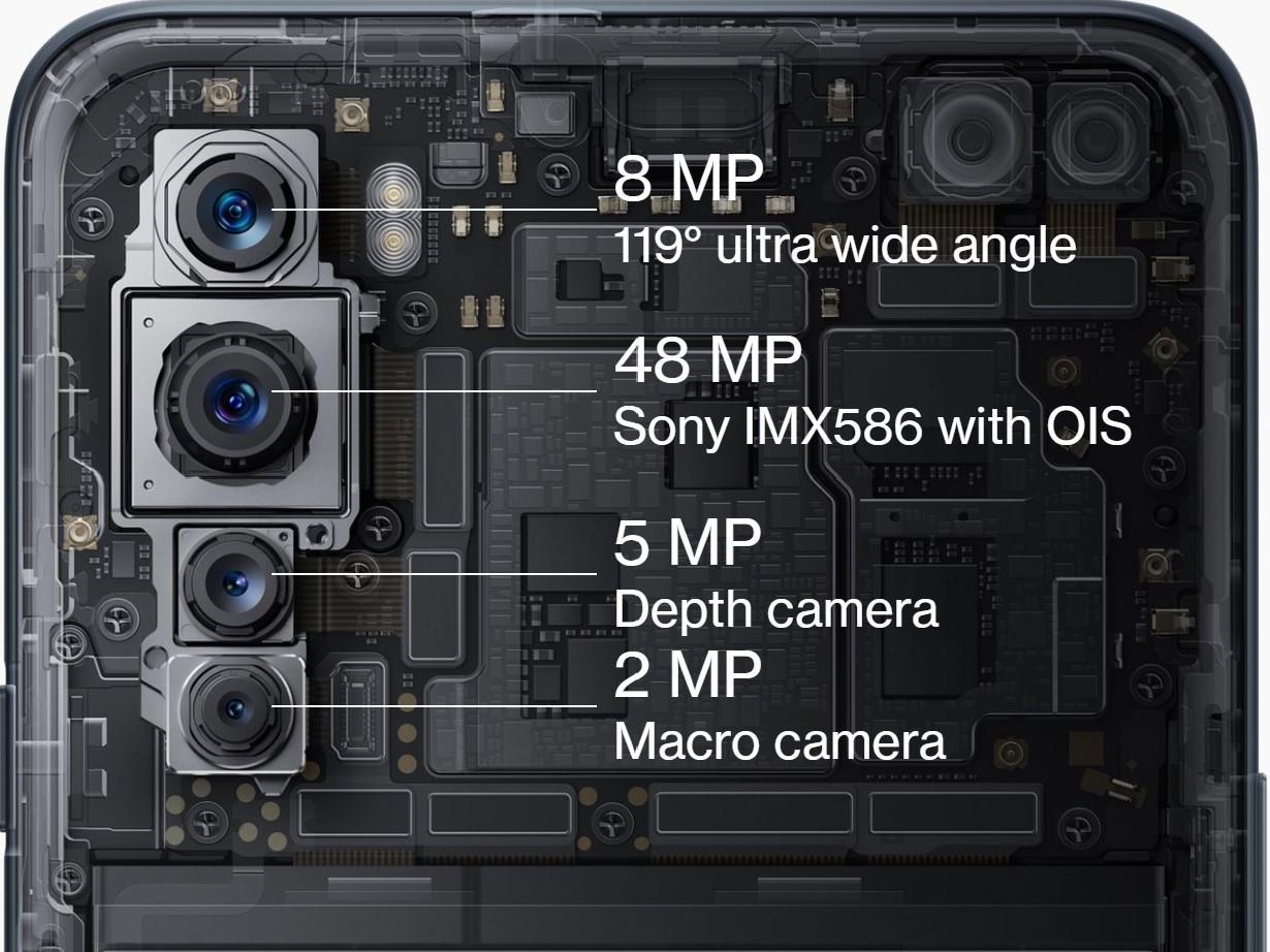 OnePlus Nordは4眼カメラを搭載