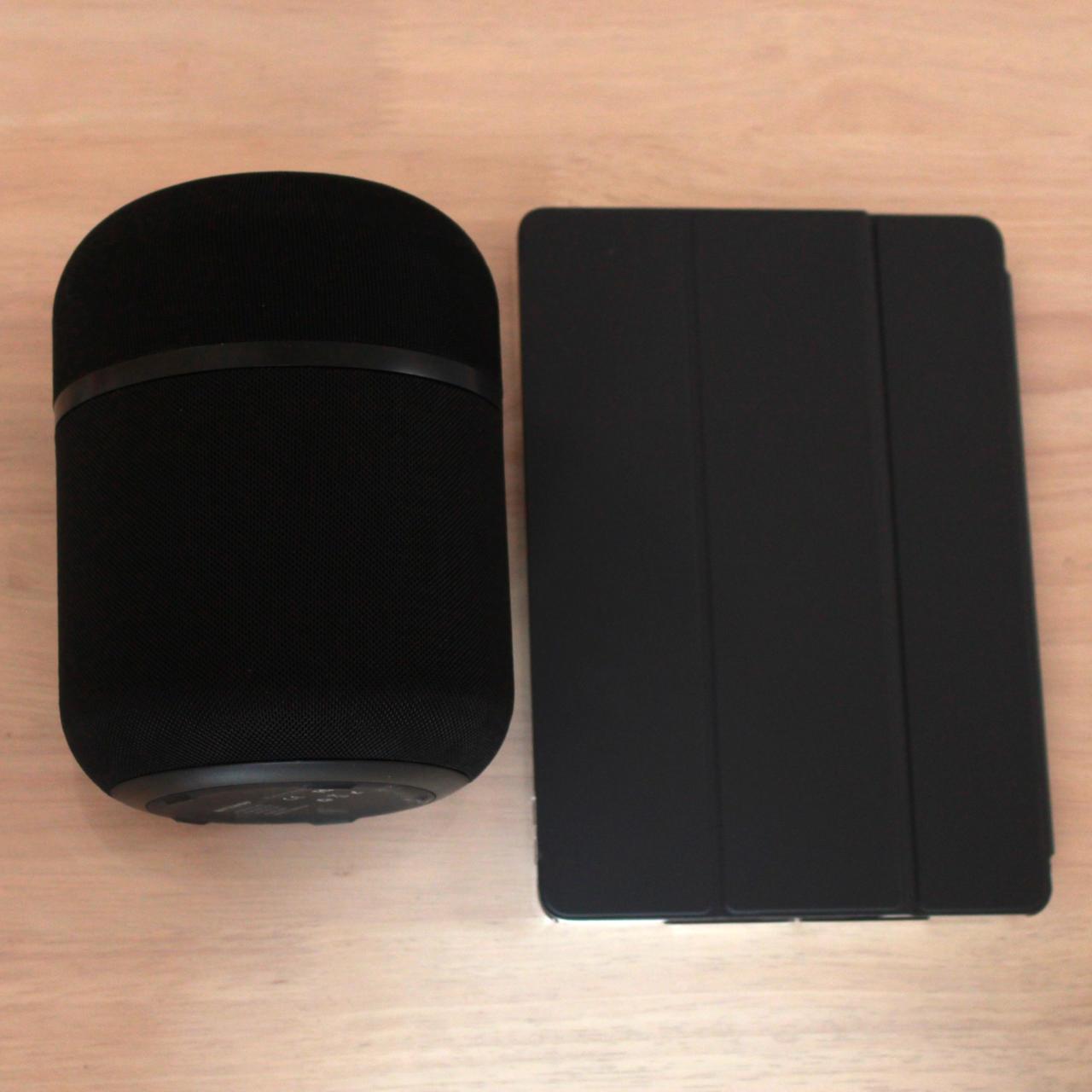 BW-AS3はiPad Air 3よりちょっと小さいがなかなかのサイズ