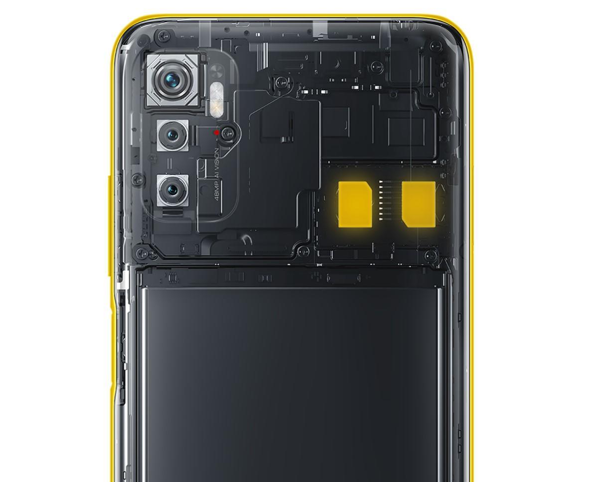 POCO M3 Pro 5Gはデュアル5Gに対応